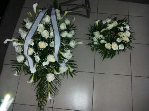 corana pentru inmormantare