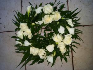coroane flori inmormantare